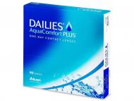 Еднодневни контактни лещи - Dailies AquaComfort Plus (90лещи)