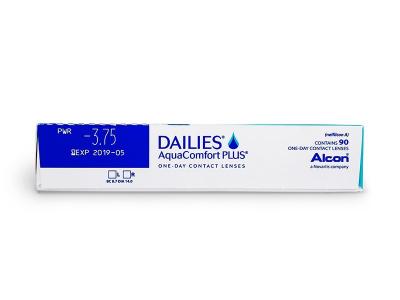 Dailies AquaComfort Plus (90лещи) - Преглед на параметри