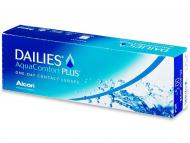 Еднодневни контактни лещи - Dailies AquaComfort Plus (30лещи)