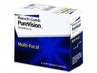 Bausch and Lomb - лещи за очи, разтвори и капки - PureVision Multifocal (6лещи)