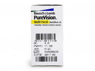 PureVision Multifocal (6лещи) - Преглед на параметри