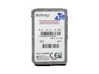 Biofinity (6лещи) - Преглед на блистер