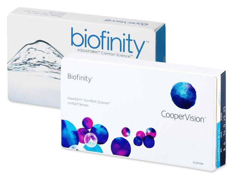 Biofinity (6лещи) - По-старт дизайн