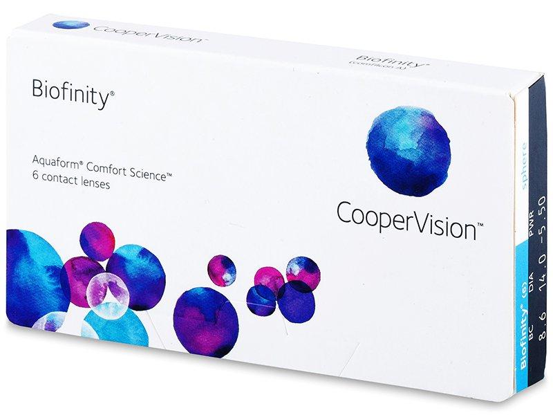 Biofinity (6лещи) - Месечни контактни лещи