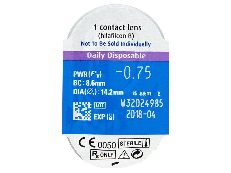SofLens Daily Disposable (30лещи) - Преглед на блистер
