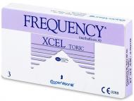 Торични контактни лещи за коригиране на астигматизъм - FREQUENCY XCEL TORIC XR (3лещи)