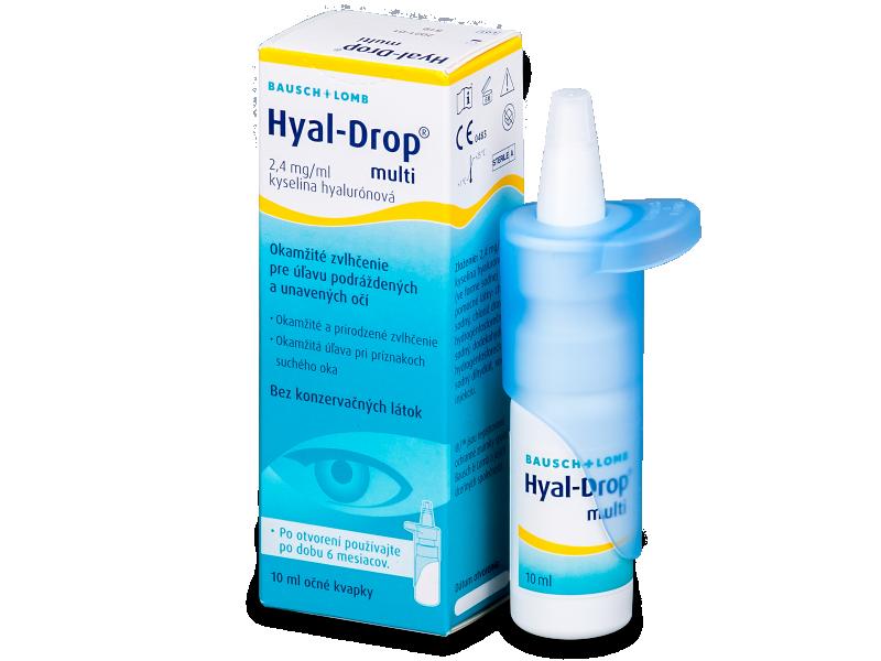 Капки за очи Hyal-Drop Multi 10 ml  - Капки за очи
