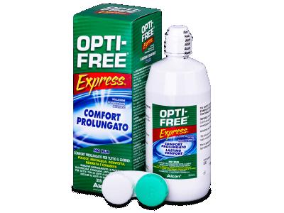 Разтвор OPTI-FREE Express 355 ml с контейнерче  - По-старт дизайн