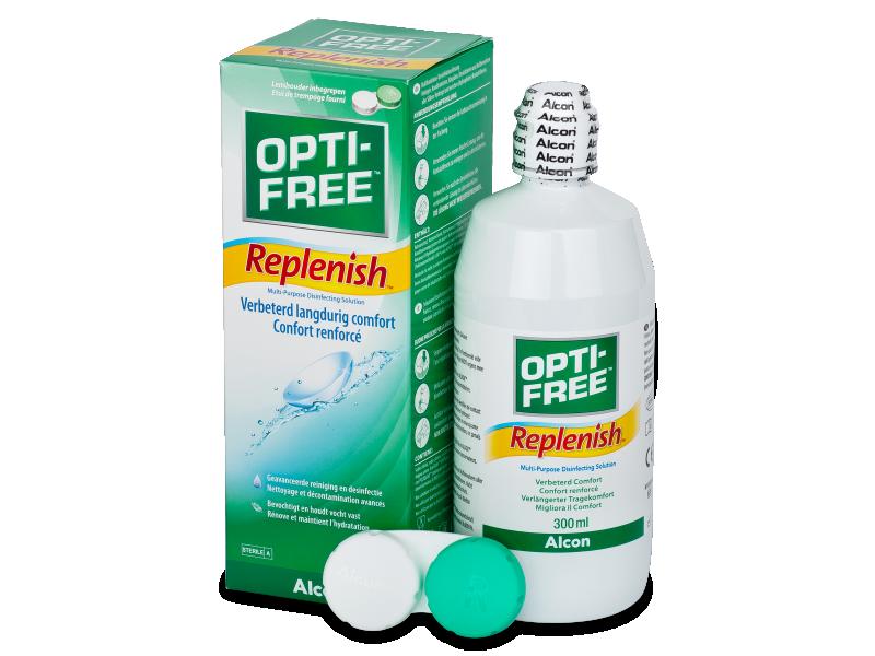 Разтвор OPTI-FREE RepleniSH 300ml  - Разтвор за почистване