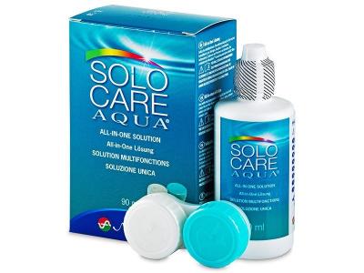 Разтвор SoloCare Aqua 90ml с контейнерче  - По-старт дизайн