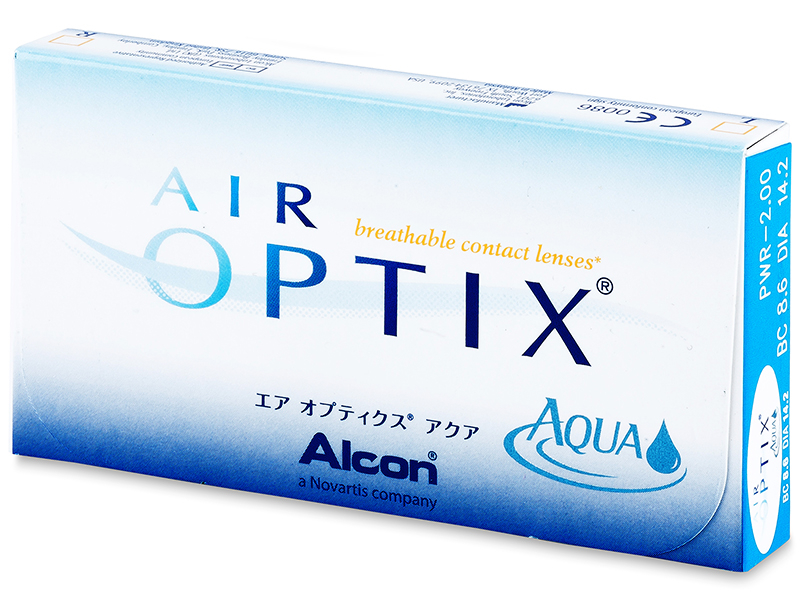 Air Optix Aqua (6лещи) - По-старт дизайн