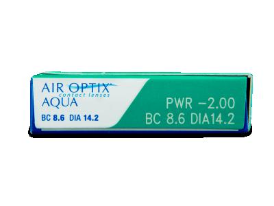 Air Optix Aqua (6лещи) - Преглед на параметри