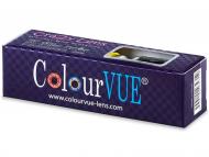Цветни контактни лещи - Crazy GLOW (2лещи)