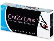 Цветни контактни лещи - Crazy ColourVUE - тримесечни диоптрични (2 лещи)