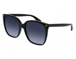 Слънчеви очила - Уголемени - Gucci GG0022S-001