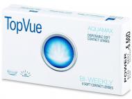 Евтини двуседмични лещи за очи онлайн - TopVue Bi-weekly (6лещи)