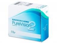 Bausch and Lomb - лещи за очи, разтвори и капки - PureVision 2 (6лещи)