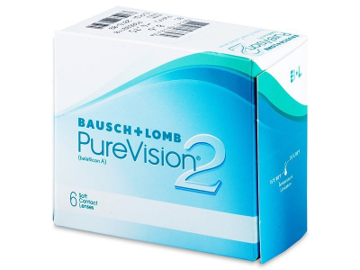 PureVision 2 (6лещи) - Месечни контактни лещи