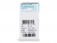 PureVision 2 (6лещи) - Преглед на параметри