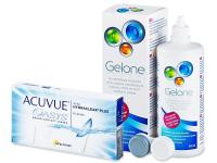 Acuvue Oasys (6лещи) + разтвор Gelone 360мл