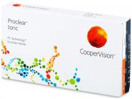 Торични контактни лещи за коригиране на астигматизъм - Proclear Toric (6лещи)