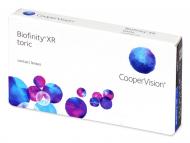 Торични контактни лещи за коригиране на астигматизъм - Biofinity XR Toric (3 лещи)