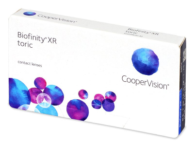 Biofinity XR Toric (3 лещи) - Торични лещи