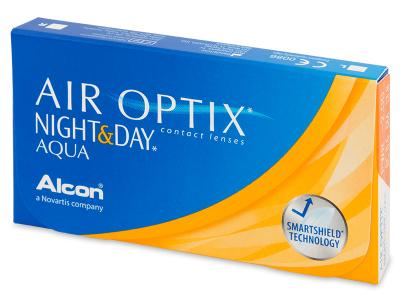 Air Optix Night and Day Aqua (6лещи)