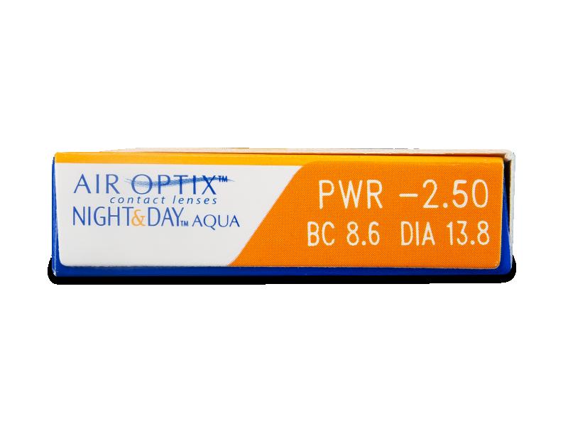 Air Optix Night and Day Aqua (6лещи) - Преглед на параметри