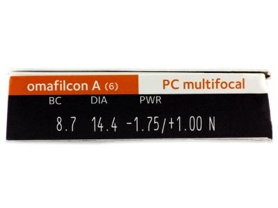 Proclear Multifocal (6лещи) - Преглед на параметри