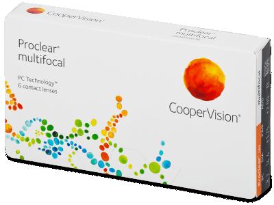 Proclear Multifocal (6лещи) - Мултифокални лещи