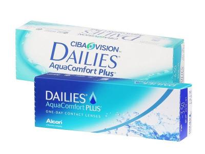Dailies AquaComfort Plus (1 леща) - Еднодневни контактни лещи
